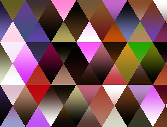 Abstract, Geometric, Triangles, Shapes, Design, Pattern