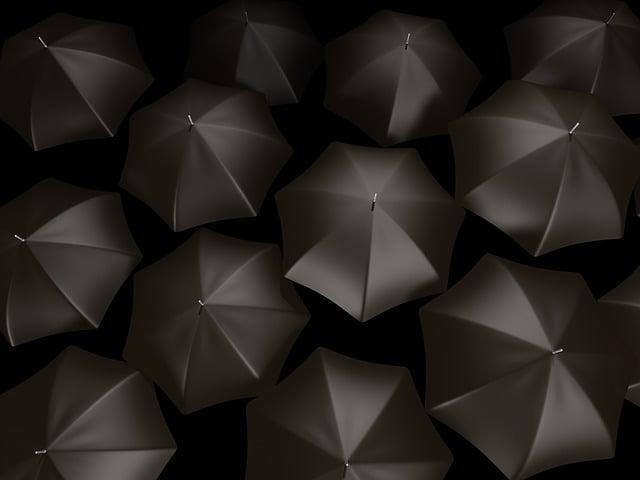 Umbrella, Abstract, Background, Rain, Weather, Design