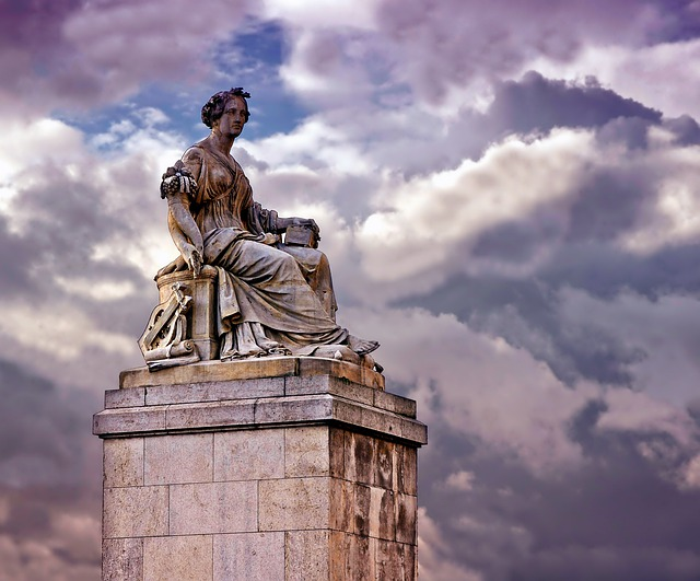 Paris, France, Monument, Sculpture, Abundantia