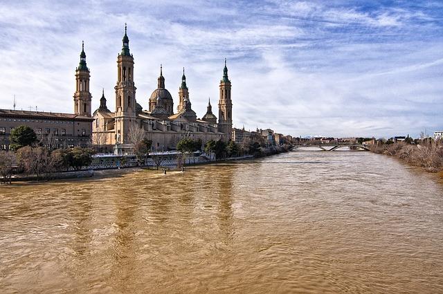 Saragossa, Abutment, Architecture, Basilica, Aragon