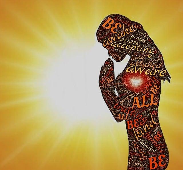 Aware, Awake, Accepting, Attuned, Grateful, Prayer