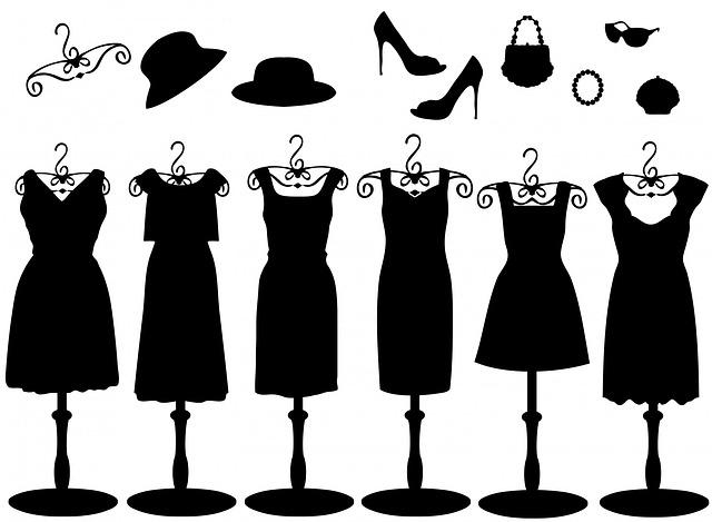 Dress, Dresses, Accessories, Black, Hat, Hats, Clothing