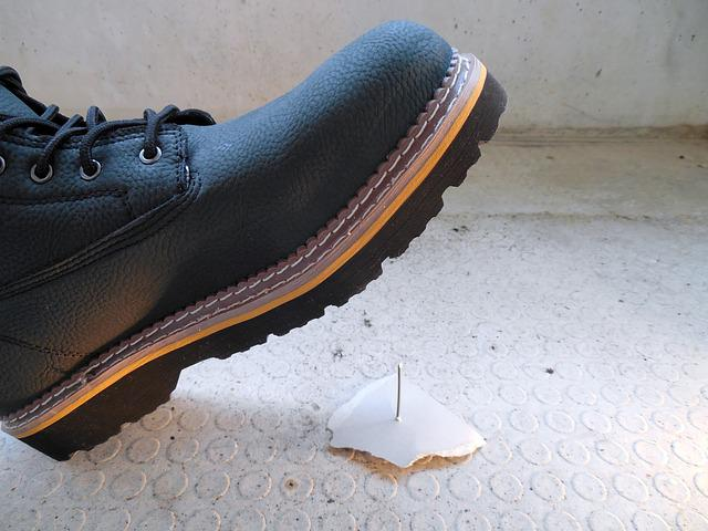 Accident, Injury, Risk, Nail, Shoe, Foot, Foot Injury