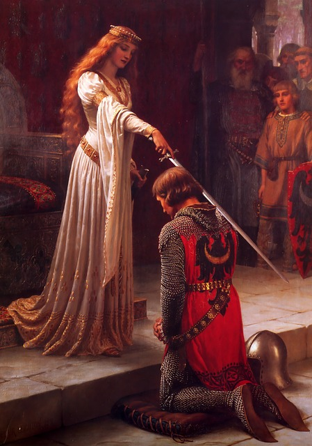 Accolade, Knight, Middle Ages, Award