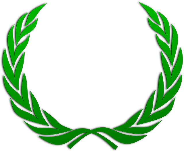 Laurel Wreath, Wreath, Accolade, Winner, Award, Badge