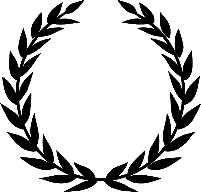 Laurel Wreath, Accolade, Winner, Award, Prize