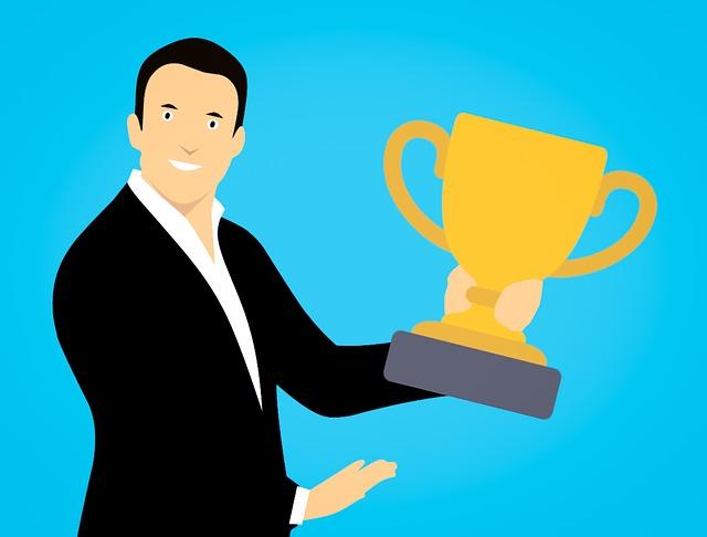 Winner, Businessman, First, Ranking, Goal, Achievement