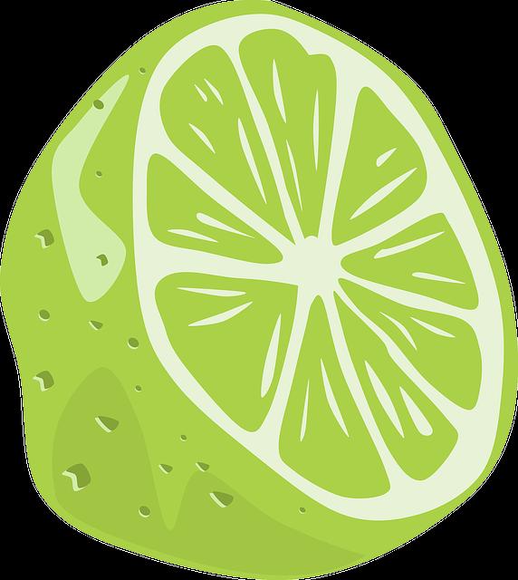 Lime, Fruit, Food, Acidic, Citrus, Half, Fresh, Healthy