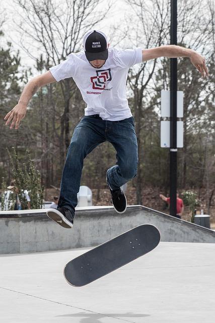 Fun, Skate, Skateboard, Action, Sport