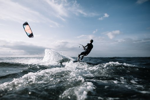 Action, Adventure, Beach, Clouds, Fun, Horizon, Kite
