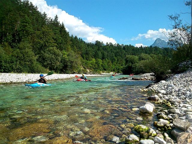 Kayak, Kayaking, Activity, Adventure, Soča, Slovenia
