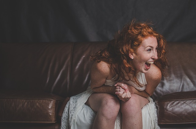 Woman, Happy, Laughing, Actress, Model, Portrait