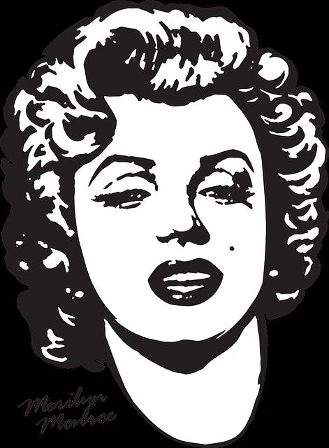 Merilyn Monroe, Printing On T-shirt, Actress
