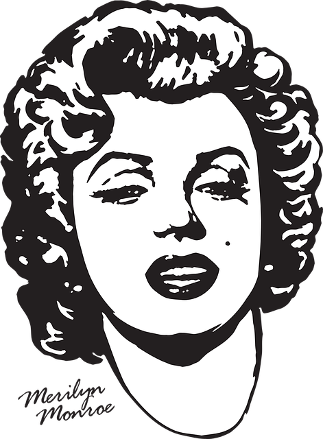 Merilyn Monroe, Printing On T-shirt, Actress