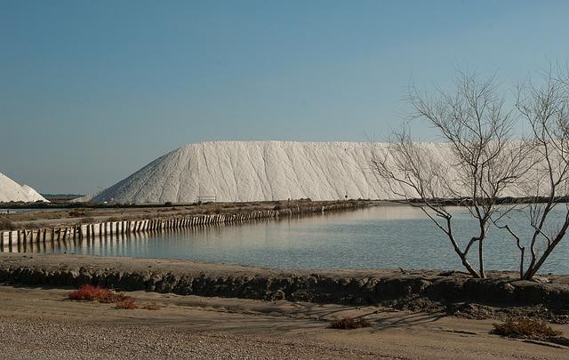 Camargue, Salt Marsh, Salt, Acute Dead, Salt Mountain