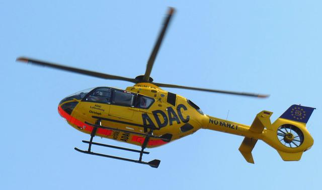 Helicopter, Christophorus, Rescue Helicopter, Adac