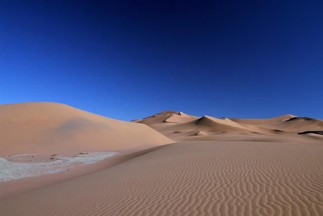 Algeria, Tassili N'ajjer, Admer Dune, Sahara, Sand