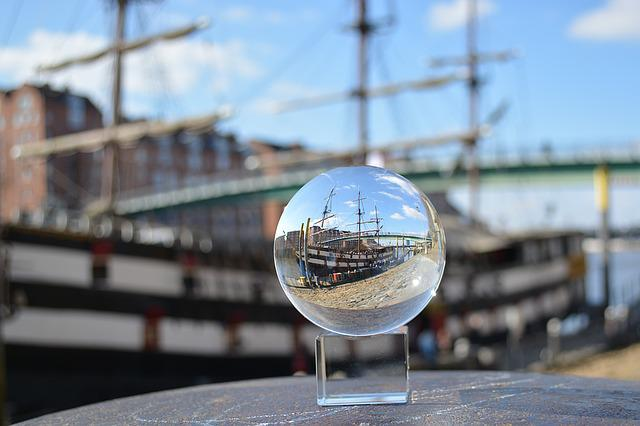 Admiral Nelson, Ship, Ball, Glass Ball, Globe Image