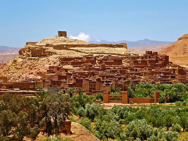 Morocco, Fortress, Adobe, Castle