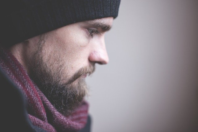Adult, Beard, Face, Fashion, Guy, Man, Model, Profile