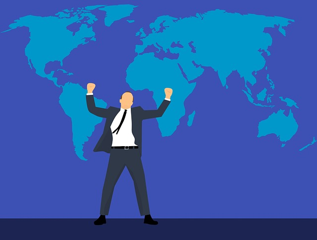 Business, Leadership, Map, World, Adult, Background