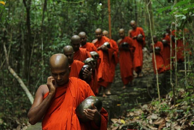 People, Religion, Adult, Monk, Group, Buddha, Travel