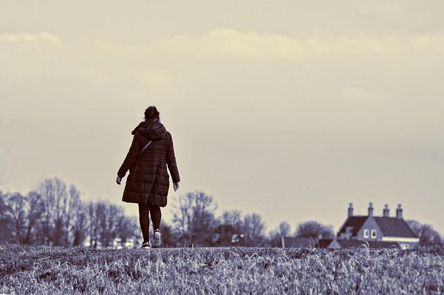 Woman, Person, People, Adult, Walking, Woman Walking
