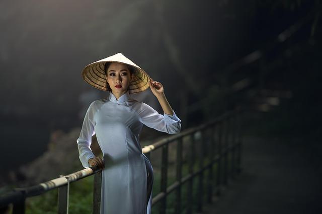 Asia, Lady, Thailand, Hat, Stance, Adult, Vietnam