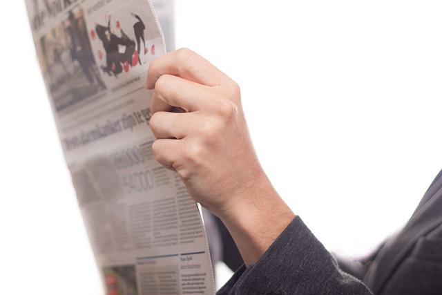 Newspaper, News, Read, Text, Journal, Clog, Adult