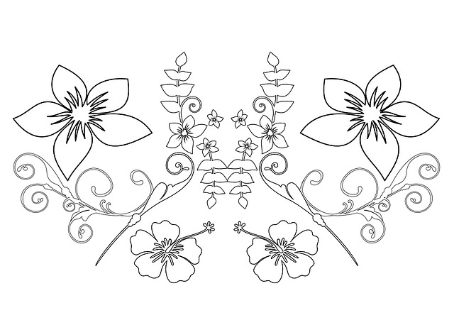 Paint, Imagine, Adults, Kringel, Flowers, Pattern