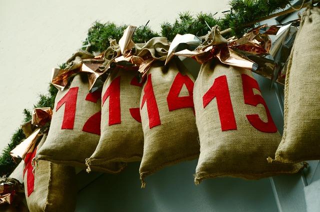 Advent Calendar, Saeckcken, Advent, Christmas
