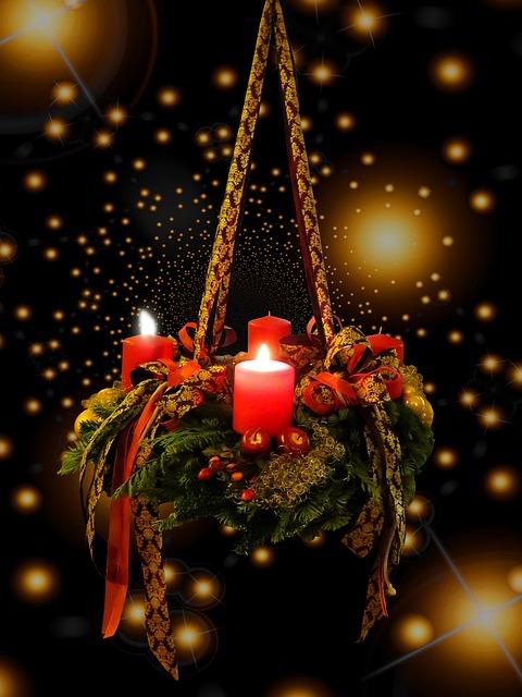 Advent, Christmas Time, Advent Wreath, 2advent