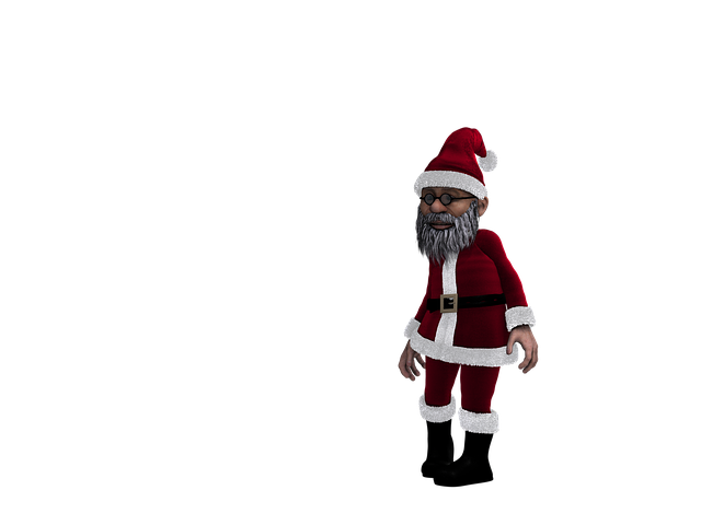 Santa Claus, Christmas, Niikolaus, Advent, Digital Art