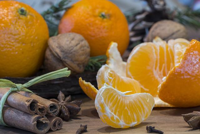 Christmas, Christmas Time, Advent, Orange, Mandarin