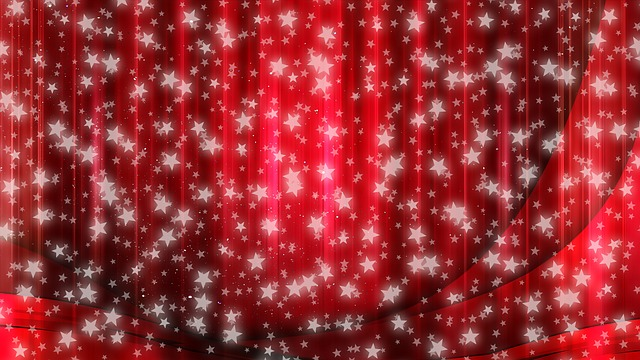 Star, Christmas, Curtain, Abstract, Advent, Decoration
