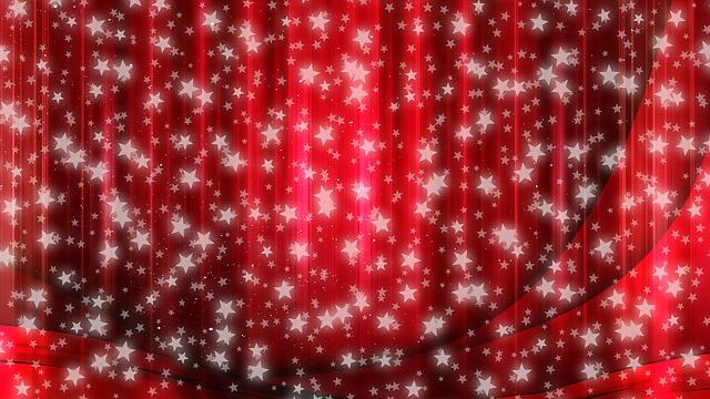 Star, Christmas, Curtain, Abstract, Advent, Decoration