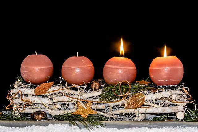 Advent Wreath, Advent, Second Advent, Christmas Time