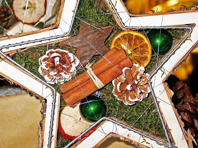 Poinsettia, Advent, Advent Wreath, Christmas Jewelry