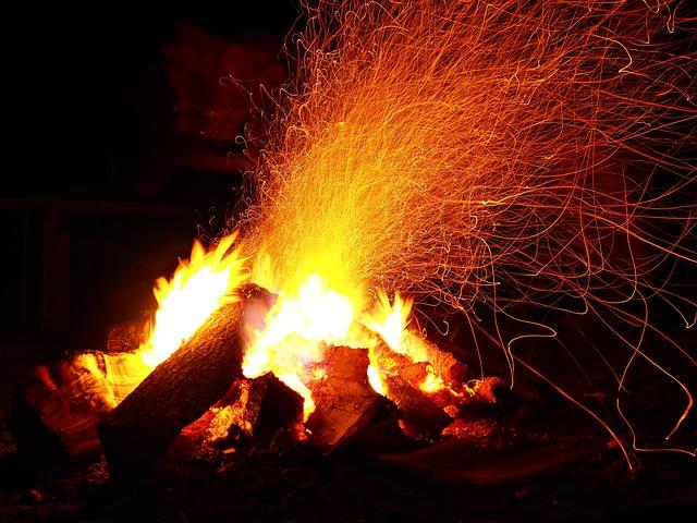 Adventure, Campfire, Camping, Fire, Outdoor, Warm