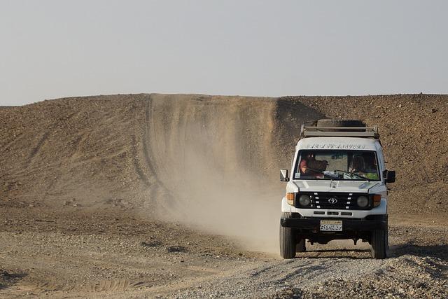 Desert, Sand, Jeep, Egypt, Adventure