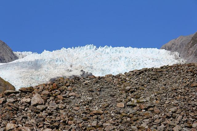 Ice, Glacier, Cold, Walk, Stone, Adventure, Climbing