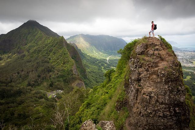 Adventure, Clouds, Forest, Hiker, Hiking, Landscape