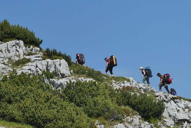 Climbing, Mountains, Load, Adventure, Paragliding