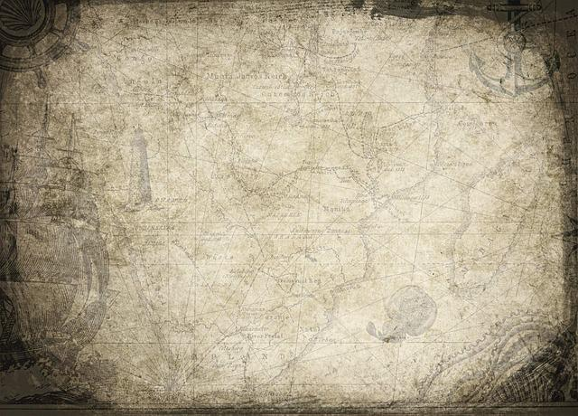 Background, Treasure Map, Map, Discover, Adventure, Old