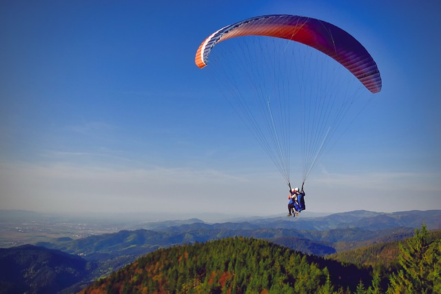 Paragliding, Sky, Adventure, Parachute, Air, Fly, Sport