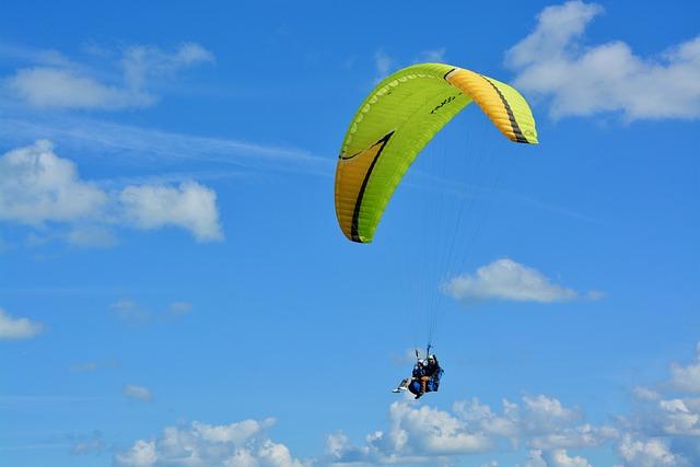 Paragliding, Paraglider, Bi-place Paraglider, Adventure