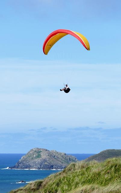 Paraglider, Paragliding, Gliding, Sky, Adventure