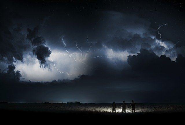 Storm, Adventure, Mysterie, Thunderstorm, Flashes