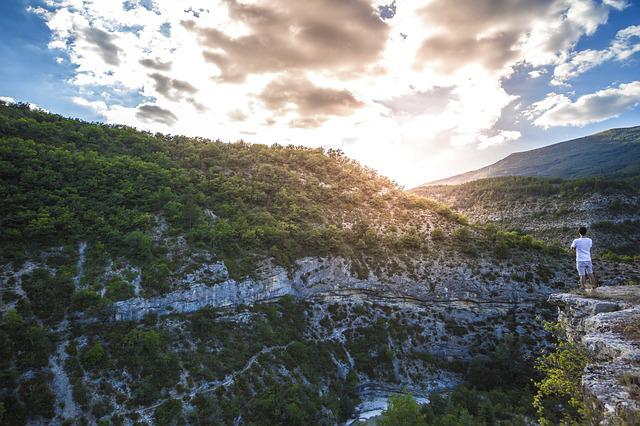 Gorges Du Verdon, Travel, Adventure, Escape, Blue, Side
