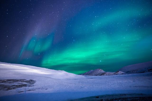 Aurora, Northen Lights, Ice, Mountain, Trip, Adventure